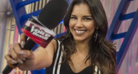 Mariana Rios, uma artista versátil, admite que prefere ser apresentadora