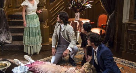 Orgulho e Paixão: Josephine acusa Cecília de causar seu tombo na escada