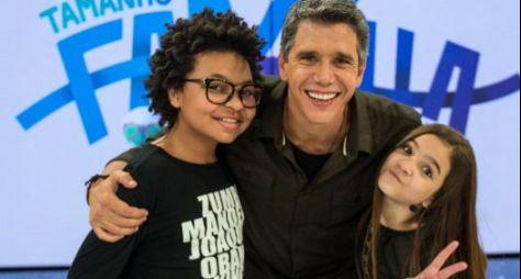 Mel Maia e JP Rufino apresentarão edição especial do Tamanho Família