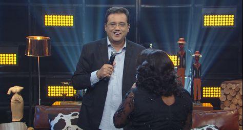 Domingo Show: Geraldo Luís realiza sonho de fã de Amado Batista
