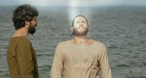 Com Jesus, defendido por Dudu Azevedo, Record TV fica em 3º no Ibope