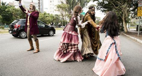 Os Sabino Machado fogem da Criotec e causam alvoroço nas ruas de SP