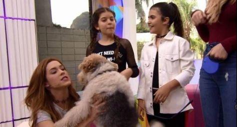 Vídeo Show: Atriz mirim diz que Globo usa anestesia em cachorro