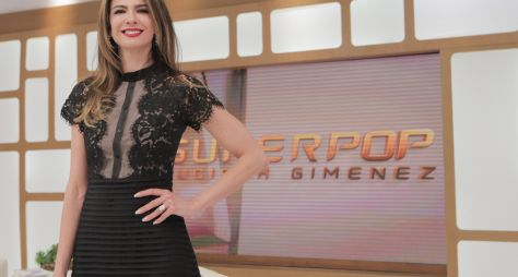 Luciana Gimenez recebe Claudia Rodrigues no SuperPop