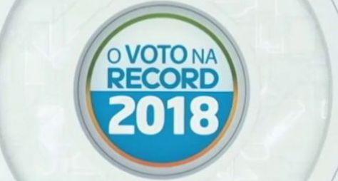 Record TV realiza sabatinas com candidatos à Presidência da República