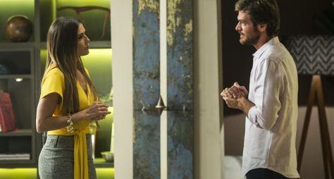Segundo Sol: Beto avisa a Karola que vai deixá-la para ficar com Luzia