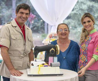 """""""Bake Off Brasil"""" recebe a visita de Dona Iaiá neste sábado (18)"""