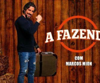 Marcos Mion grava chamadas de A Fazenda; Flávia Viana será repórter