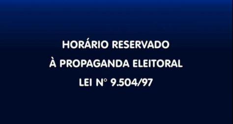 Na TV, propaganda política obrigatória começará no próximo dia 31