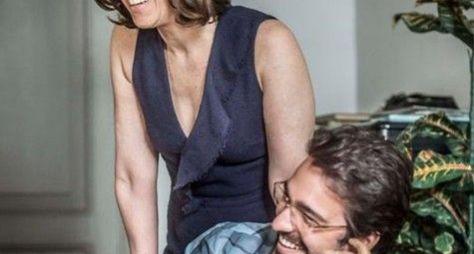 Fernanda Torres e Humberto Carrão gravam Sob Pressão