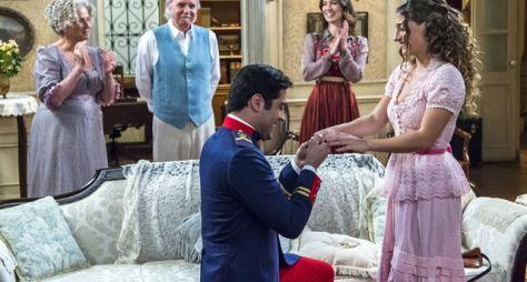 Orgulho e Paixão: Lídia e Randolfo ficam noivos