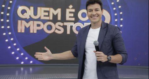 Rodrigo Faro comanda estreia do quadro Quem É o Impostor?