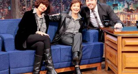 The Noite: Danilo Gentili conversa com Miriam Mehler e Sandra Pêra