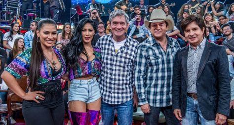 Altas Horas recebe as duplas Simone & Simaria e Chitãozinho & Xororó