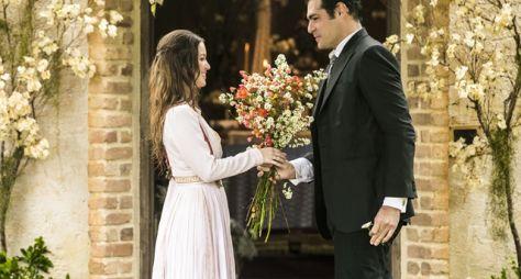 Orgulho e Paixão: Darcy e Elisabeta se casam em cerimônia íntima