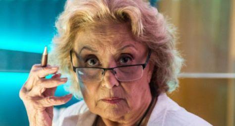 Eva Wilma deixará o elenco de O Tempo Não Para