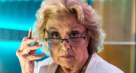Eva Wilma deixará O Tempo Não Para no fim do mês