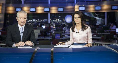 Record TV dá início a construção do novo cenário do Jornal da Record