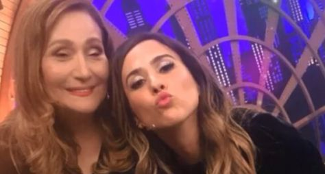 Lady Night: Sonia Abrão visita os Estúdios Globo