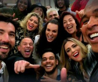 A audiência da estreia do reality A Fazenda: Mais Conectada