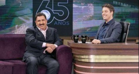 Com Ratinho, Programa do Porchat repete maior audiência do ano