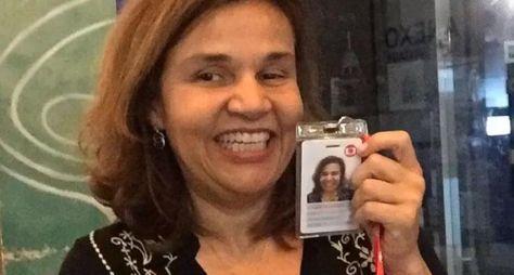 Claudia Rodrigues volta dar expediente nos Estúdios Globo