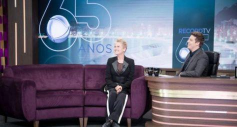 Com Xuxa, Programa do Porchat bate recorde de audiência e share no ano em SP