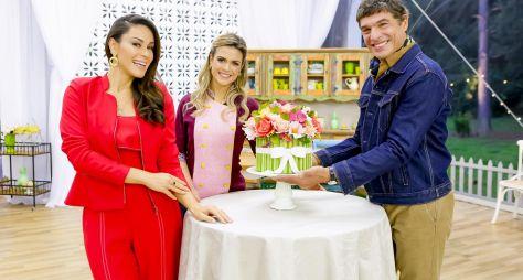 """""""Bake Off Brasil"""" brinda à primavera com desafio do """"Bolo Buquê"""""""