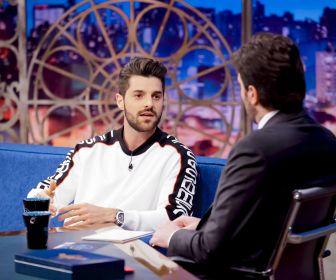 Danilo Gentili conversa com Alok no The Noite de hoje