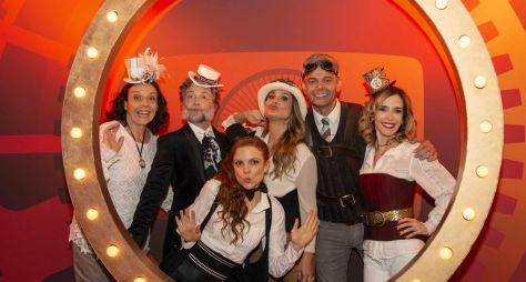 Elenco da TV Globo se reúne em gravação de mensagem de fim de ano