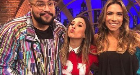 Lady Night: Patrícia Abravanel visita os Estúdios Globo