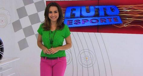 Millena Machado deixa a apresentação do Auto Esporte
