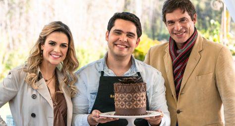 """""""Bake Off Brasil"""" tem repescagem com visita de Dário, vencedor da 3ª temporada"""