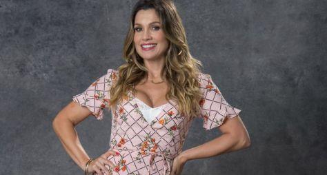 Flávia Alessandra comenta sobre sua personagem em O Sétimo Guardião