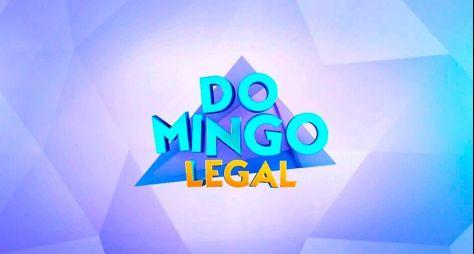 Domingo Legal presta homenagem a Sérgio Mallandro e garante a vice-liderança