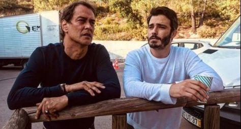 Marcello Antony e Thiago Rodrigues gravam novela em Portugal