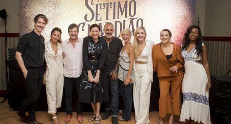 TV Globo apresenta O Sétimo Guardião para a imprensa