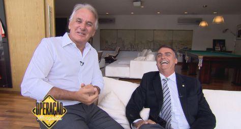 Otávio Mesquita traz entrevista com Jair Bolsonaro nesta sexta