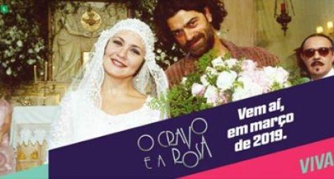 Canal VIVA confirma a reprise da novela O Cravo e a Rosa