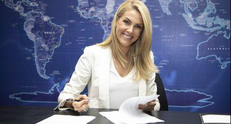 Record TV: Ana Hickmann renova contrato por mais três anos