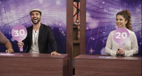 Programa do Porchat recebe os atores Bárbara Borges e Beto Marden