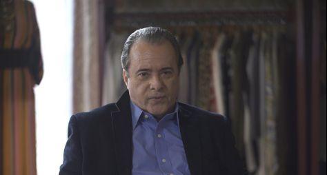 Tony Ramos comemora papel em novela de Aguinaldo Silva