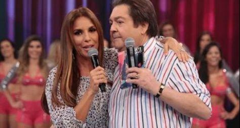 Ivete Sangalo e Luan Santana nos especiais do Domingão do Faustão