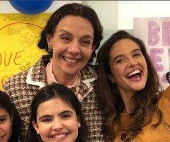 Recuperada, Rosi Campos volta a gravar O Tempo Não Para