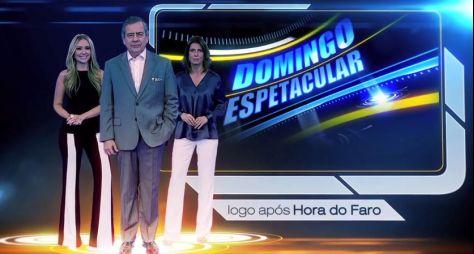 Domingo Espetacular deve ganhar novo cenário em 2019