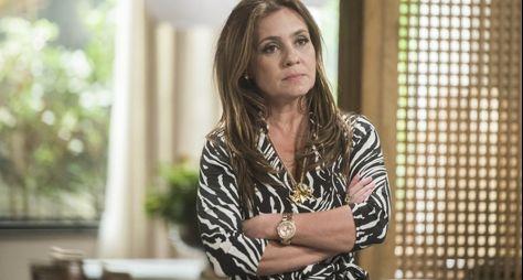 Adriana Esteves é reservada para Tróia, para faixa das 21h