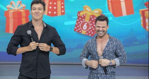 Rodrigo Faro prepara super festa de aniversário para Eduardo Costa