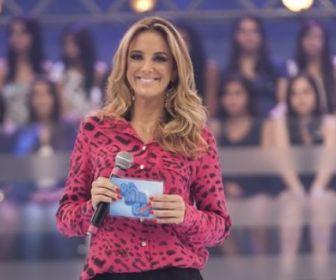 Ticiane Pinheiro agrada como apresentadora de reality show