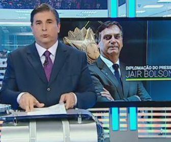 """SBT fica em 2º lugar com exibição de """"Diplomação Presidente"""" de Jair Bolsonaro"""