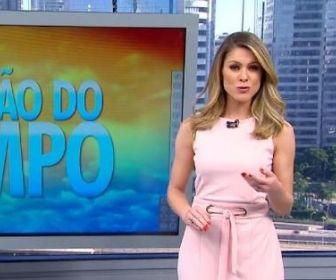 Na Globo, Jacqueline Brazil é a substituta oficial de Izabella Camargo